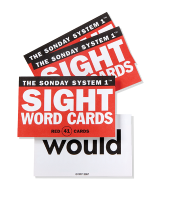 Sight Word Card Deck SS2